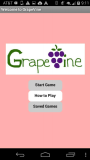 GrapeVine Home Screen